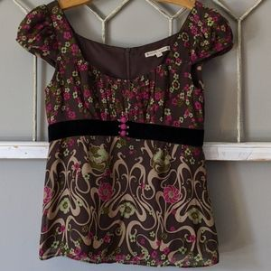 Anthropologie Nanette Lepore blouse Vintage size 4
